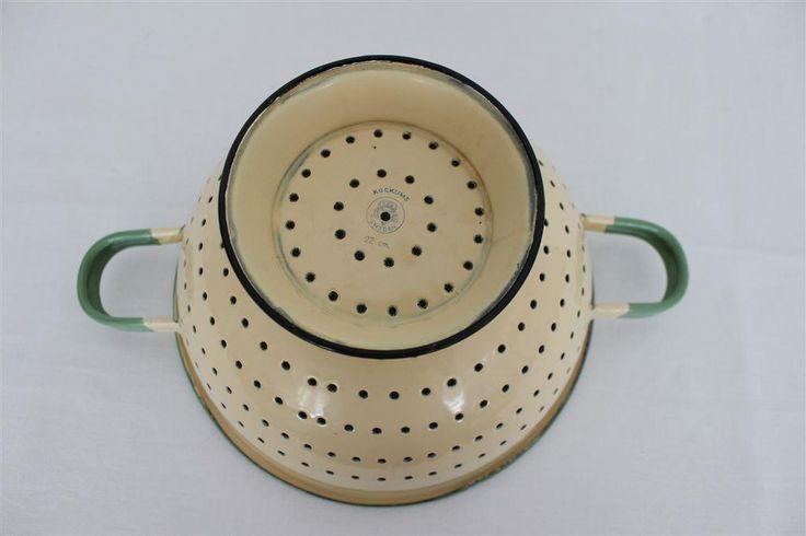 Kockums Durkslag 22cm på Tradera.com - Kockums emalj - Antik & Design  