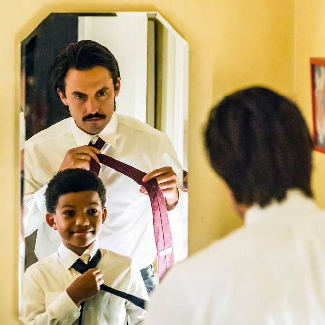 Like father, like son. #ThisIsUs