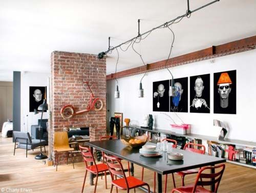 Loft a Parigi come a New York: Blog Arredamento Interior Design Lifestyle