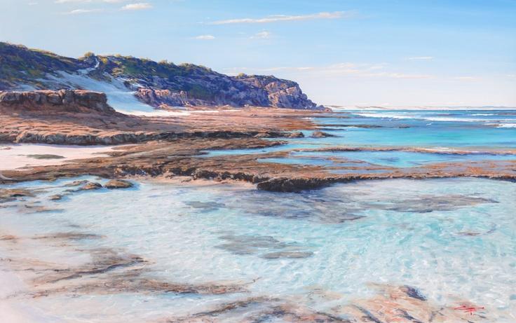 Painting of Roman Beach Arniston