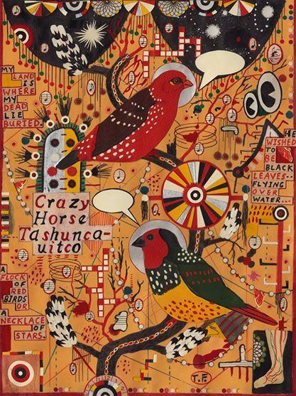 Birds for Crazy Horse ~ Tony Fitzpatrick