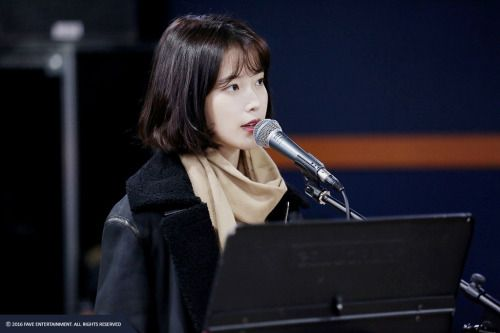 [Official Photos] IU preparing for her concert cr: Fave Entertainment