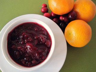 Cranberry Clementine Sauce -- gluten-free, dairy-free, sugar-free