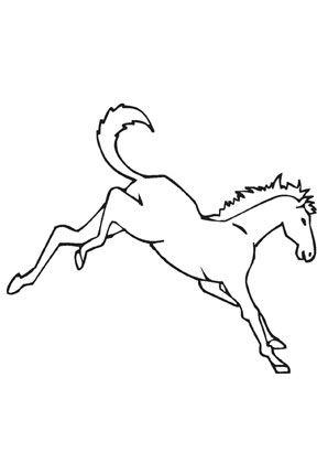 ausmalbild pferd auf dem bauernhof zum kostenlosen ausdrucken und ausmalen. ausmalbilder |