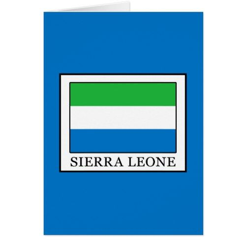 Sierra Leone Zazzle Com In 2020 Sierra Leone Freetown Personalized Custom