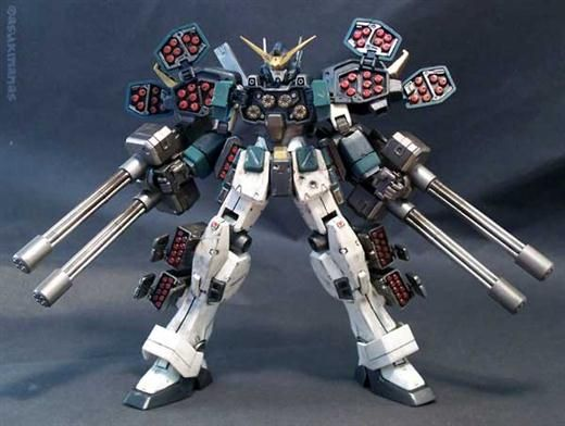 custom gundam models | Gundam Wing H-Arms Custom Model Kit | Mecha Dioz: Zoids, Zoids Toys ...