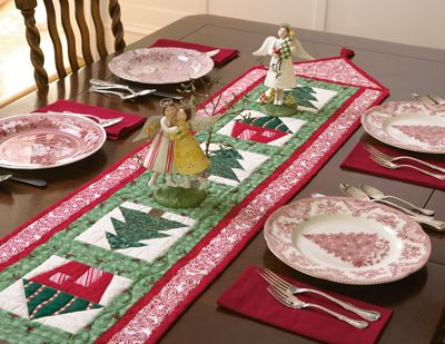"""""""Toyland Table Runner"""" 