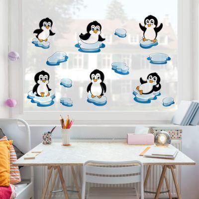 Fensterfolie - Fenstersticker - Pinguin Set 40x40-0.00 Jetzt bestellen unter: https://moebel.ladendirekt.de/dekoration/wandtattoos/wanddekoration/?uid=ad94e47a-bc96-5e40-8367-0dfbfc36886b&utm_source=pinterest&utm_medium=pin&utm_campaign=boards #heim #tattoos #dekoration