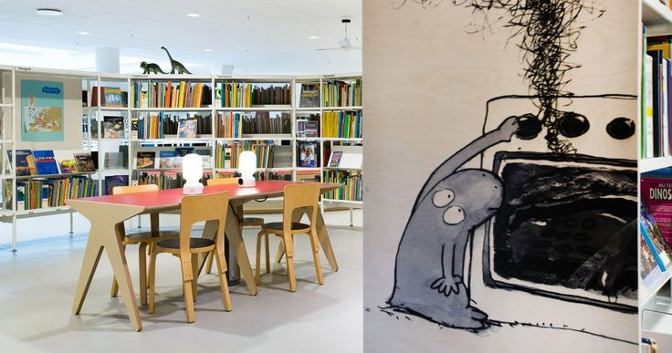 Holbæk Library | ateljé Lyktan