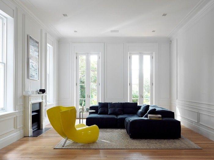 die besten 25 minimalistisch wohnen ideen auf pinterest minimalismus kleideraufbewahrung und. Black Bedroom Furniture Sets. Home Design Ideas