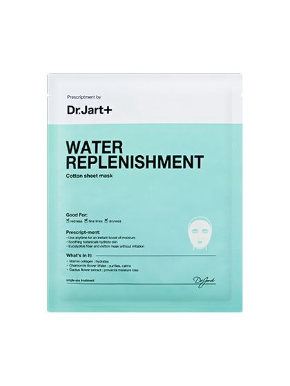 Best of Beauty 2015 Winner -- The best sheet mask: Dr. Jart+ Water Replenishment Cotton Sheet Mask | allure.com