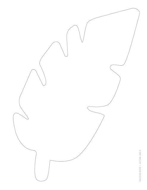 17 best ideas about leaf template on pinterest leaf stencil lilo costume and felt templates. Black Bedroom Furniture Sets. Home Design Ideas