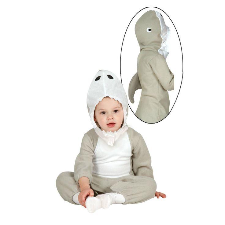 Disfraz de Tiburón Bebé #disfraces #carnaval #novedades2015