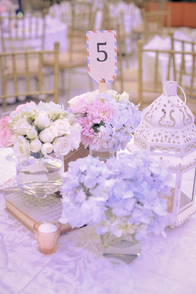 Guest Table Centerpiece   Event Styling by Something Pretty Manila   Neil Mantala and Annie Simoy Wedding