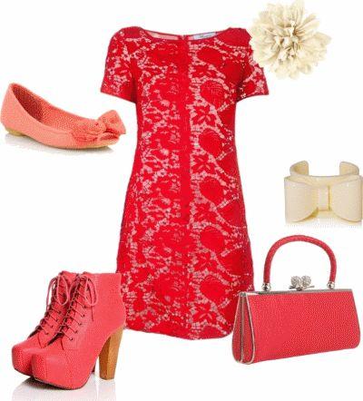Красное платье - 71 фото длинных и коротких платьев   WomanChoice - женский сайт