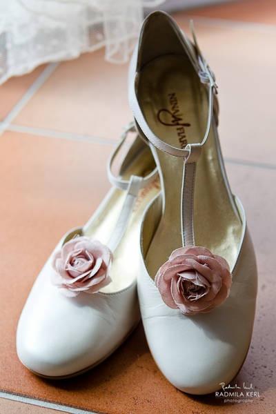 Die kleine rosa Blüte verbreitet große romantische Stimmung, nicht ...