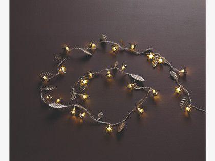 BONSAI SILVER Metal Metal flower LED fairy light - HabitatUK #ourhabitat