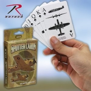 WK 13-15 577 WWII SPOTTER PLAYING CARDS ''CE''