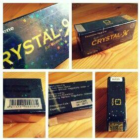 Crystal x original.. mengatasi masalag kewanitaan...