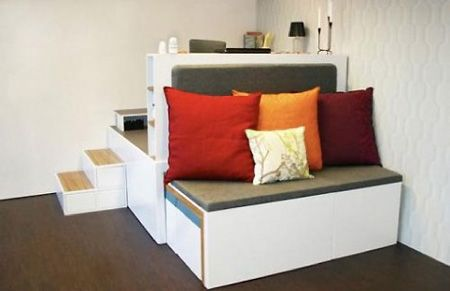 modify for bedroom: Interior Design, Compact Living, Ideas, Tiny House, Kids Room, Living Room, Matroshka Compact, Small Spaces, Furniture