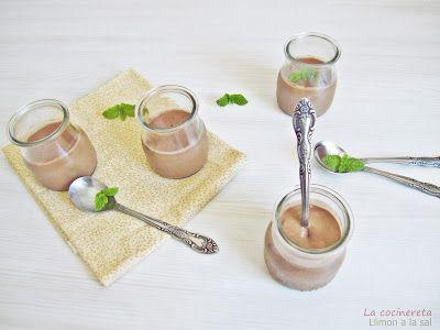 Llimona a la Sal: Natillas de chocolate