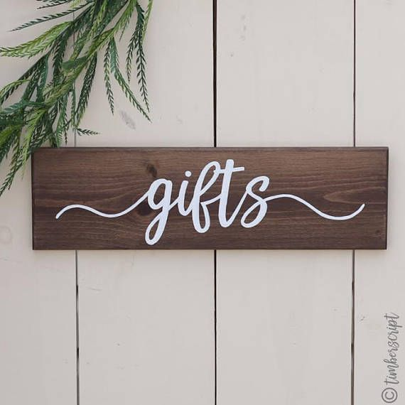 7 best wedding gift table images on pinterest projects diy and rustic wedding sign gifts rustic gift table decor wedding gift table decor bridal negle Image collections
