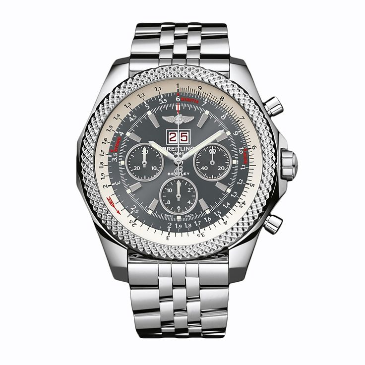 #Breitling #Bentley Stainless Steel #Watch
