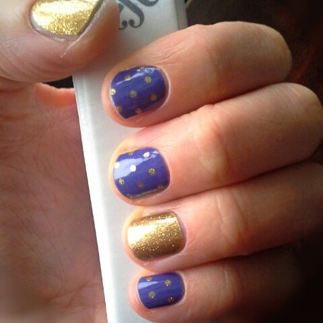 Made with #Pixlr Newest Jamberry manicure :) :) Icy Berry Polka and Gold Sparkle. #jamberrynailwraps #jamberrynails #icyberrypolkajn #goldsparklejn Write a comment if you'd like a sample accent nail from Jamberry to try out!! jackiethurnauer.jamberrynails.net