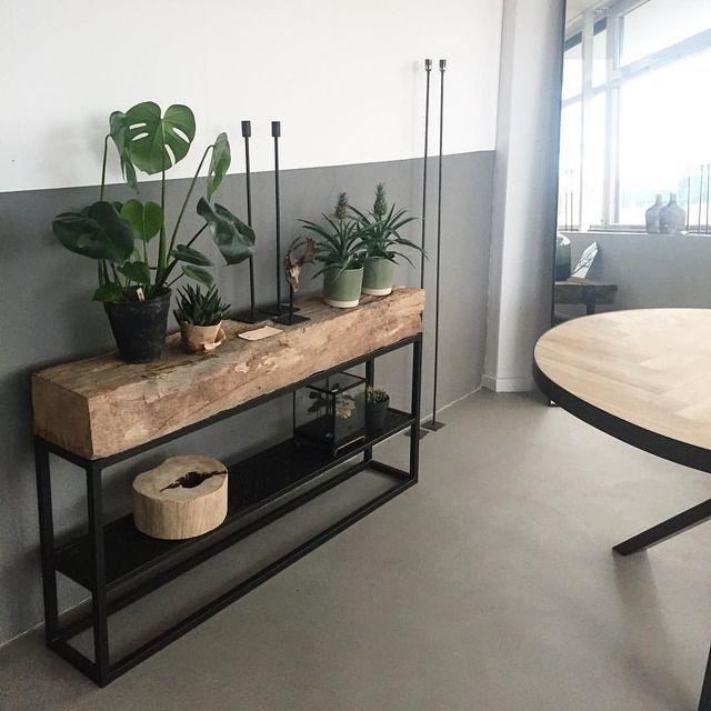 Mueble Auxiliar Estilo Industrial Decoracion De La Casa Diseno