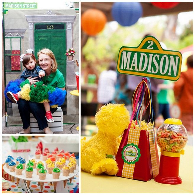AMAZING Sesame Street Party ideas