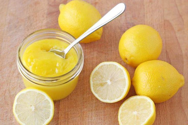 Citrónový krém (Lemon kurd)