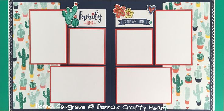 Layout created and designed by Donna Cosgrove, CTMH Manager, featuring Prickly Pear paper and Scrapbooking stamp set. To find out more about these gorgeous products visit www.donnacosgrove.closetomyheart.com.au