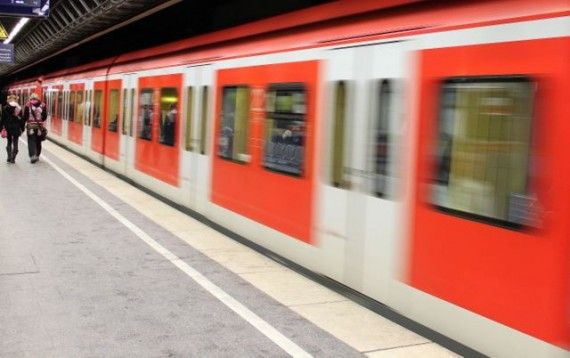 Deutsche Bahn Train in Munich, Germany.. this is GREAT info on the Bayern Pass. Saves a ton of money traveling in Bavaria