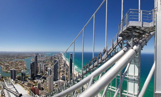 Skypoint Climb, Surfers Paradise, Gold Coast, Australia Why didn't anyone tell me about this 2 years ago??
