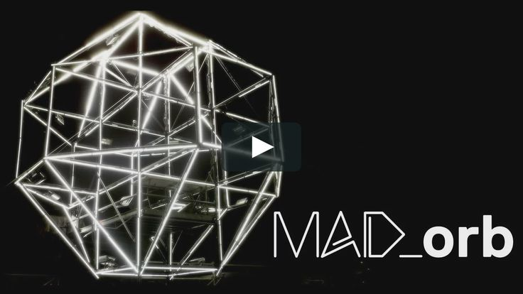 MAD_Orb, a project by 1024 Architecture and GarageCube  MAD-Orb is a Dj Stage concept fully equiped with custom LED fixtures and mapped with MAD-Mapper software.  This…