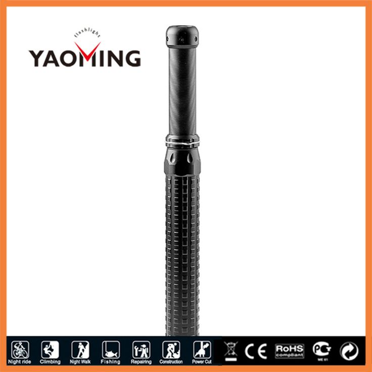 CREE 5W 18650 Rechargeable LED Flashlight Selfdefense Tactical Baton Flashlight Zoom Police Torch by 18650 or 3AAA