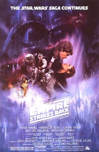 1980 Star Wars: The Empire Strikes Back Original US Poster. £600 at Vintage Seekers.