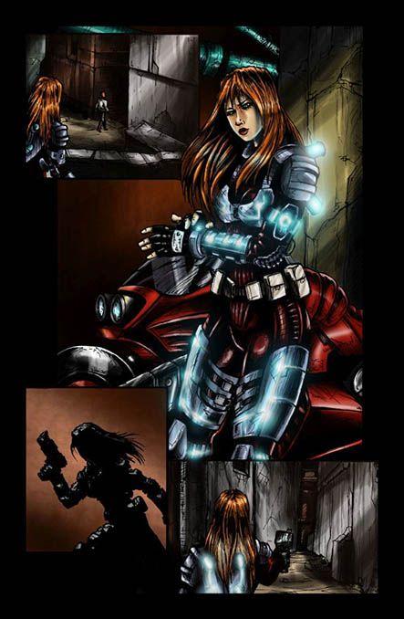 Bloodlust 1. szám, 15. képregényoldal