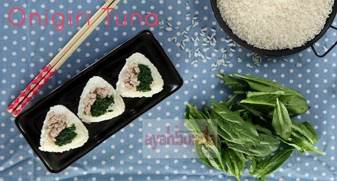 Onigiri Tuna :: Klik link di atas untuk mengetahui resep onigiri tuna
