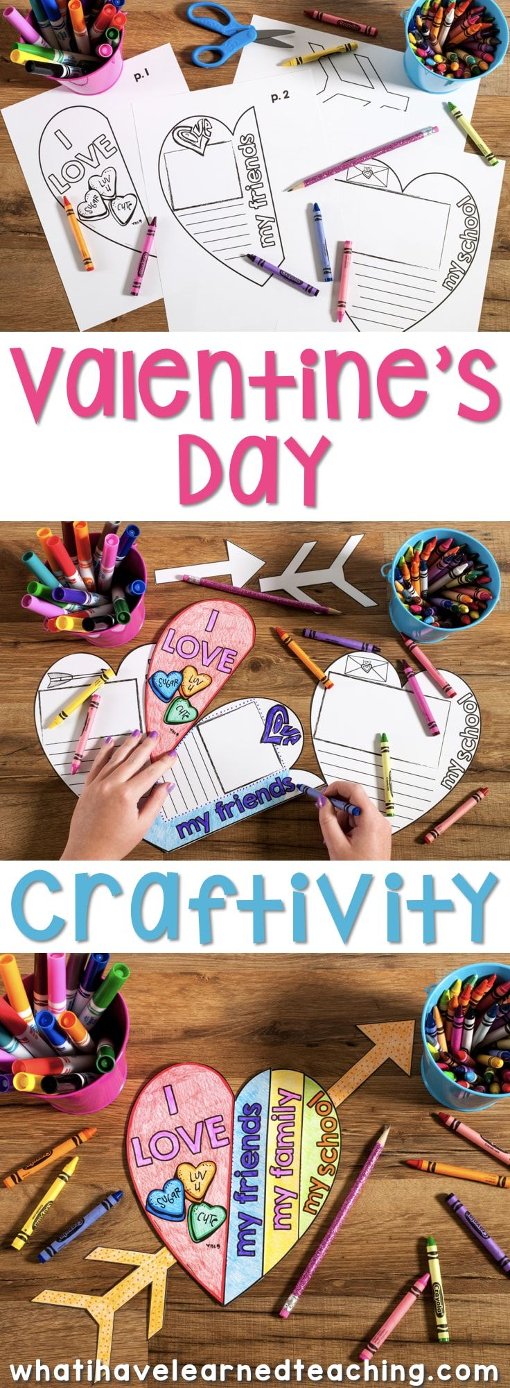 A Valentine's Day Craftivity where students reflect on what makes themselves, their friends, family and school special. This is the perfect classroom activity leading up to Valentine's Day.