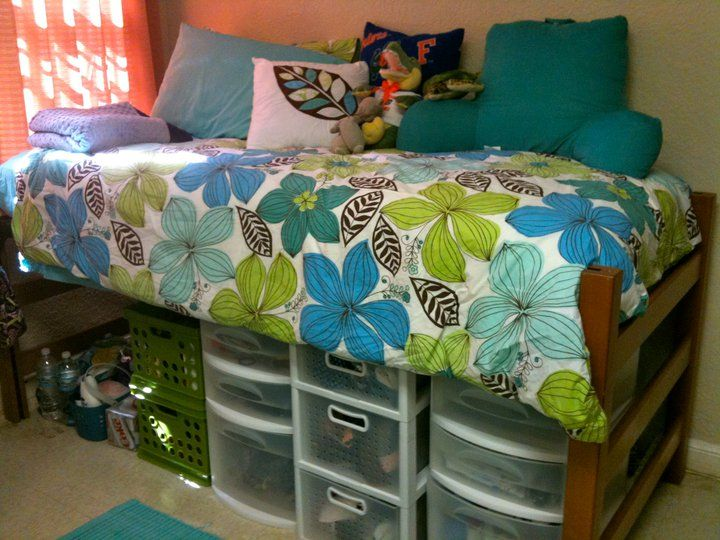 Images Of Raised Dorm Beds With Storage Underneath | Molly  University Of FL Part 33
