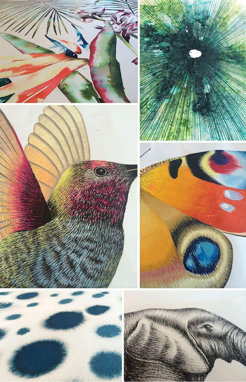Products harlequin designer fabrics and wallpapers paradise - Harlequin Amazilia Blog Image 08