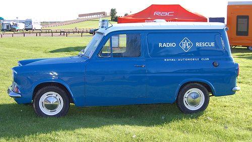 Ford Anglia Van of the Royal Automobile  Club