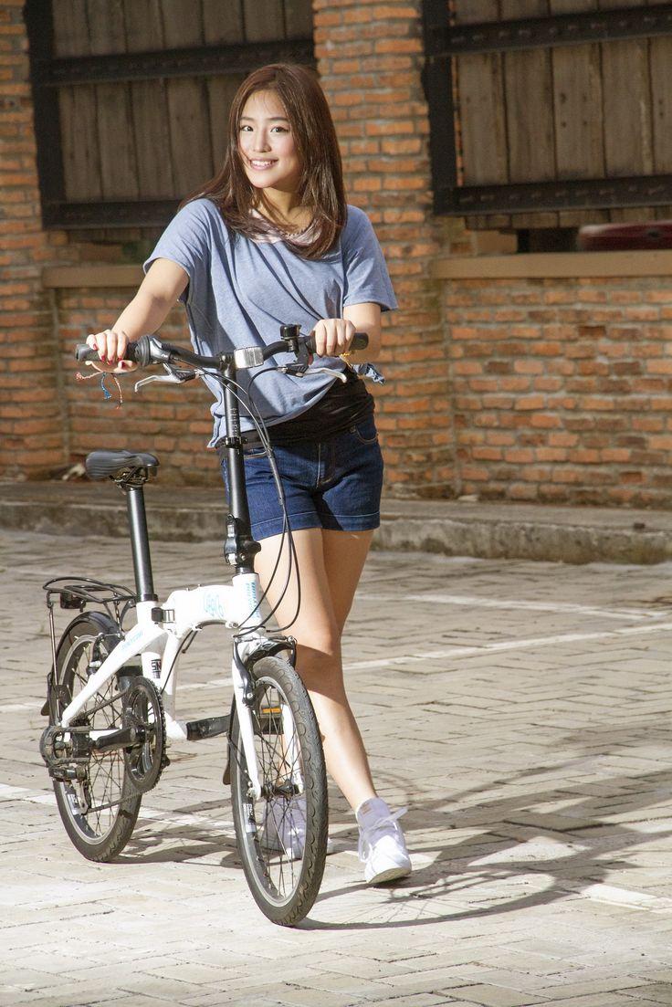 Haruka Nakagawa- Sepeda Baruuuu ^_^