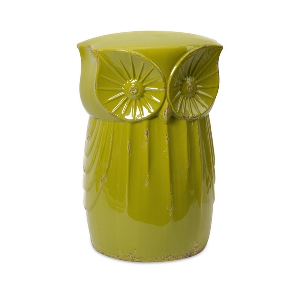 IMAX Norris Owl Garden Stool - IMAX Norris Owl Garden Stool - 69264 -- Product Specifications Dimensions D x W x H (inches) Item weight lbs.  sc 1 st  Pinterest & 59 best Garden Stools images on Pinterest | Ceramic garden stools ... islam-shia.org