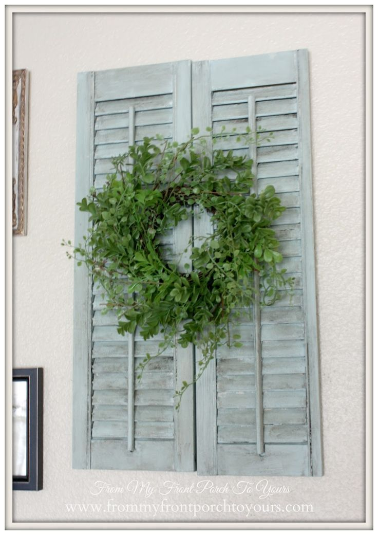 1000 ideas about indoor shutters on pinterest indoor - Decorative interior wall shutters ...