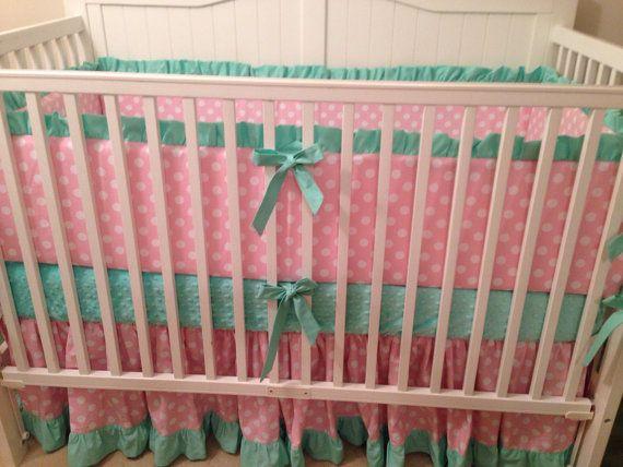 Pink And Mint Green Nursery Idea Crib Bedding Set Pink And Mint Green By But