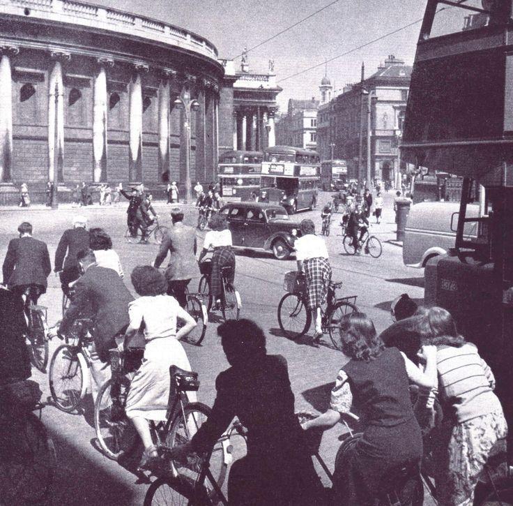 College Green, Dublin 1950s
