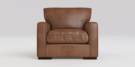 Buy Idaho Chair (1 Seat) Antique Leather Whisky Standard from the Next UK online shop