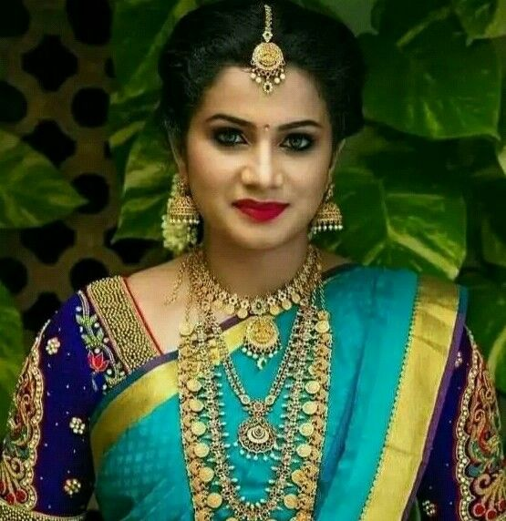 Pin by ALN Desikar on Brides   Indian bride makeup, South